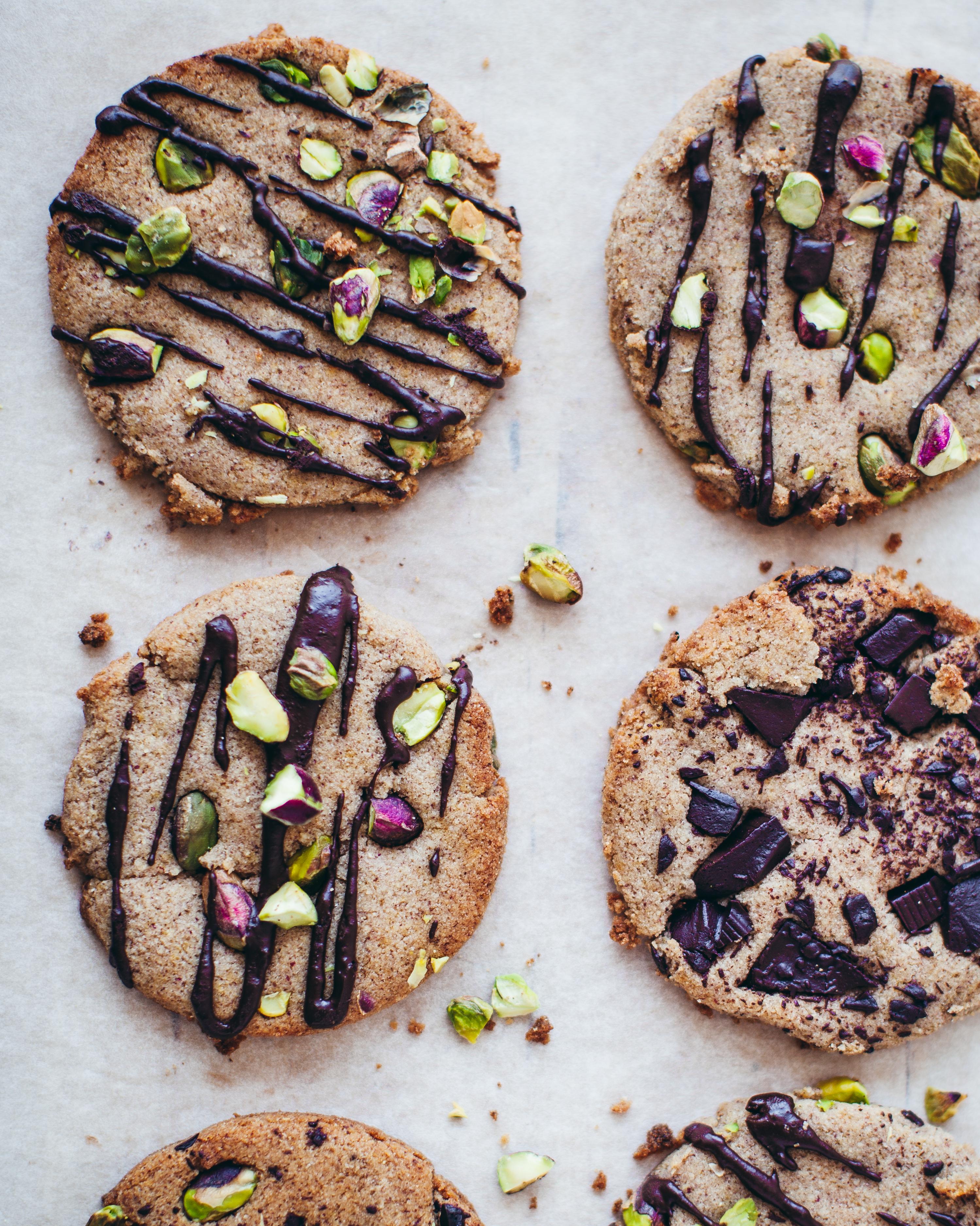 Cookies all'olio d'oliva