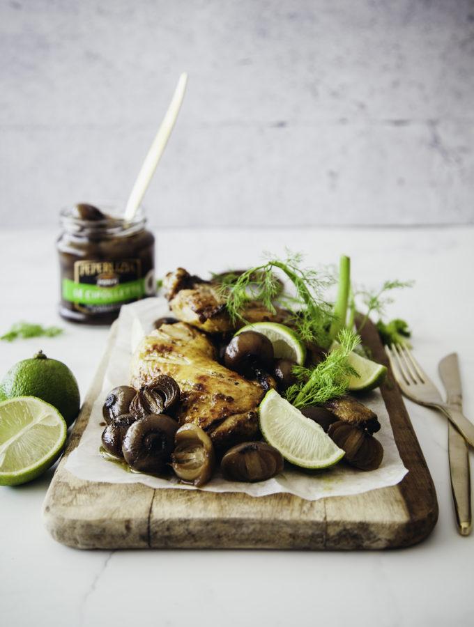 Pollo Thai Style // con Cipollette all'aceto balsamico Ponti