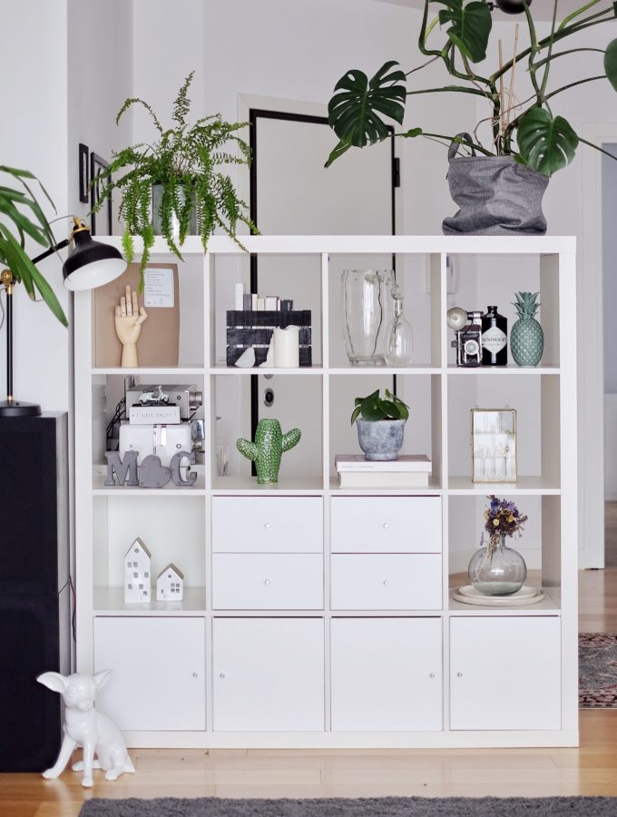 Home//Ikea Kallax Restyling day