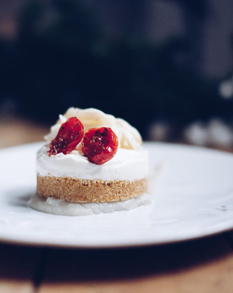 Natale a staffetta // Cheesecake salata di baccalà